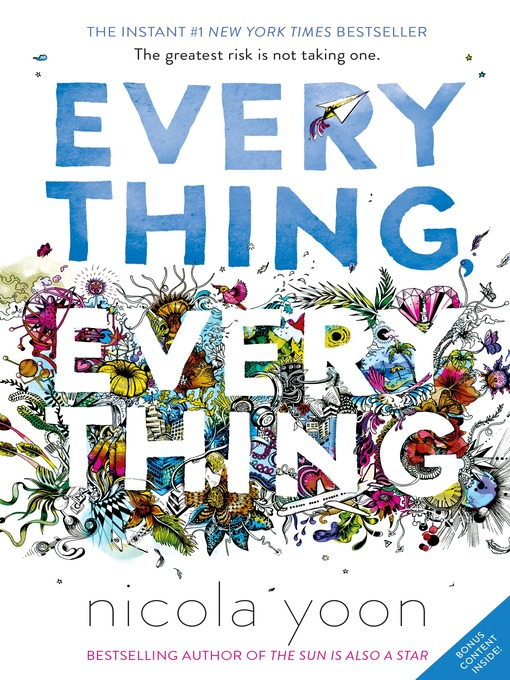 Cover image for book: Everything, Everything