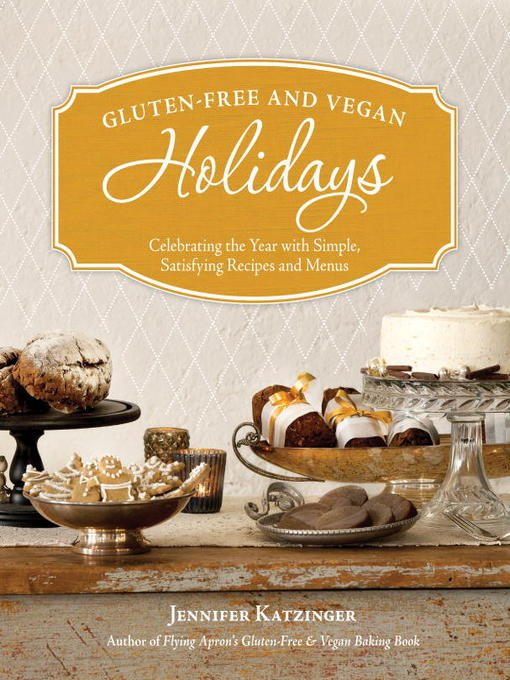 Cover of Gluten-Free and Vegan Holidays cookbook