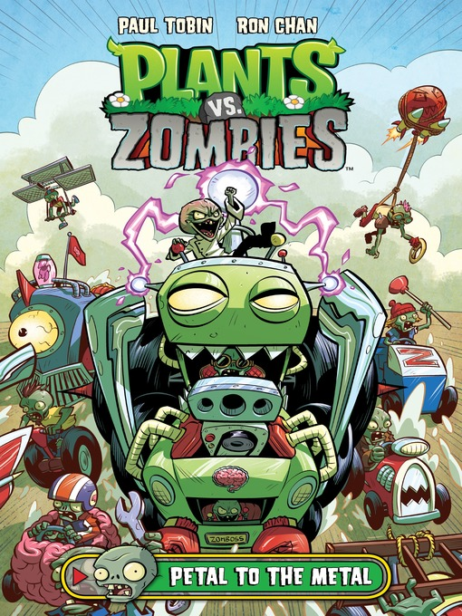 Cover image for Plants vs. Zombies (2013), Volume 5