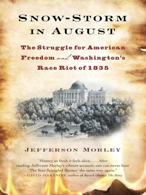 Title details for Snow-Storm in August by Jefferson Morley - Available