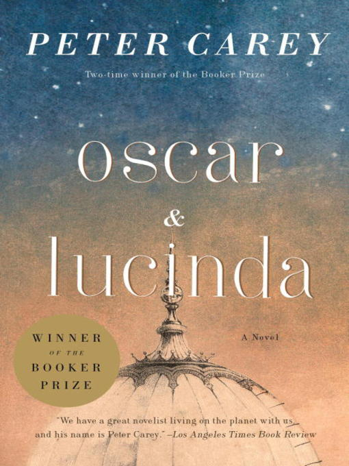 Title details for Oscar and Lucinda by Peter Carey - Wait list