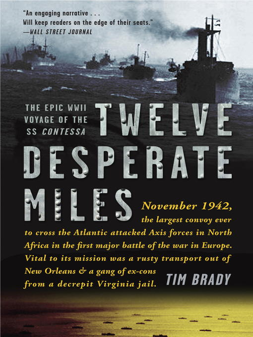 Title details for Twelve Desperate Miles by Tim Brady - Wait list