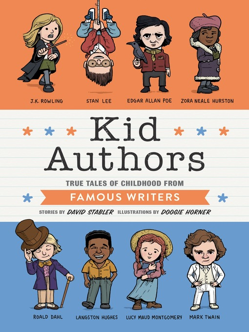 Title details for Kid Authors by David Stabler - Available