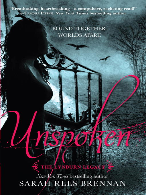 Title details for Unspoken by Sarah Rees Brennan - Wait list