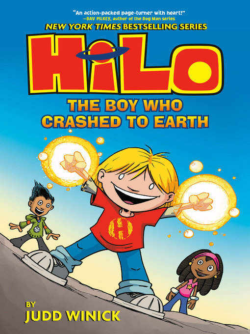 Title details for The Boy Who Crashed to Earth by Judd Winick - Wait list