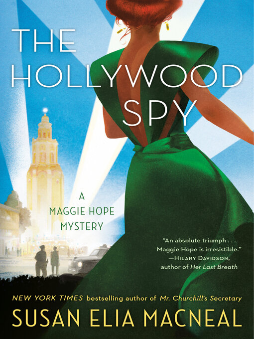 Title details for The Hollywood Spy by Susan Elia MacNeal - Wait list