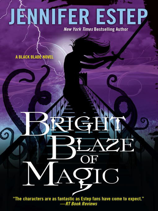 Cover of Bright Blaze of Magic