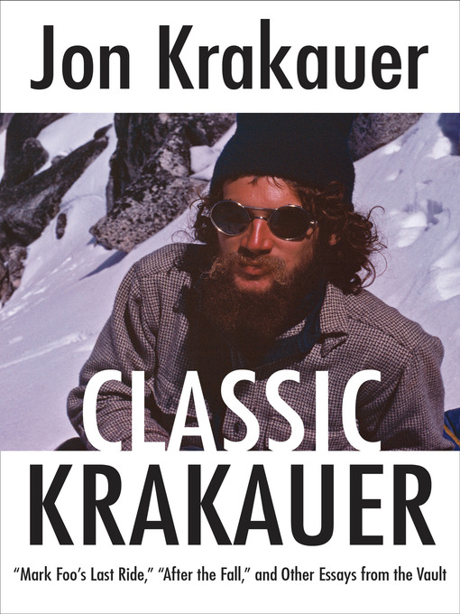 Title details for Classic Krakauer by Jon Krakauer - Available
