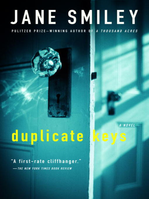 Title details for Duplicate Keys by Jane Smiley - Wait list