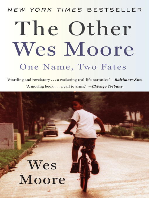 Title details for The Other Wes Moore by Wes Moore - Wait list
