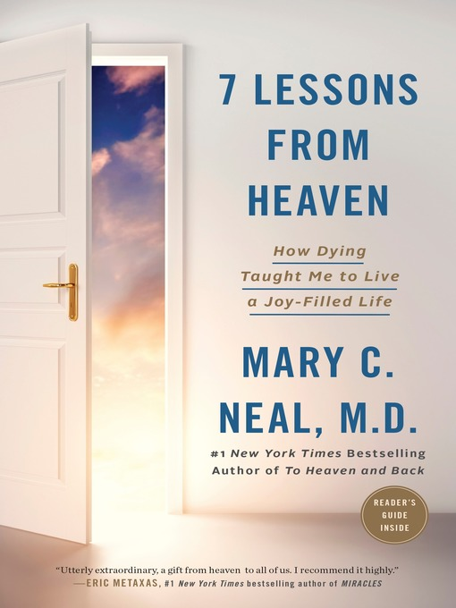 Title details for 7 Lessons from Heaven by Mary C. Neal, M.D. - Available