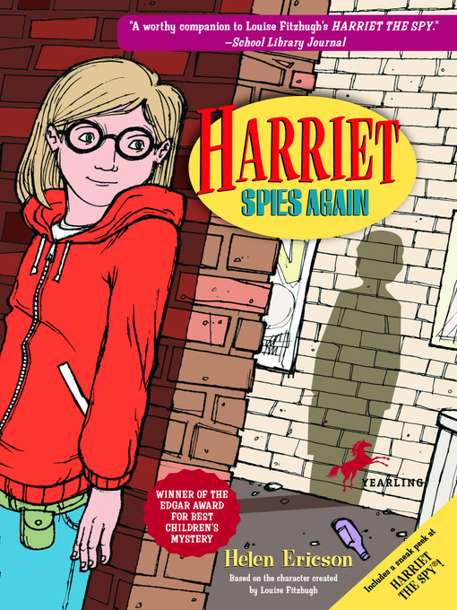 Cover image for Harriet Spies Again
