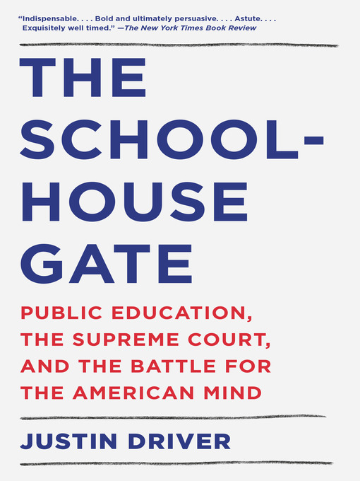 Cover of The Schoolhouse Gate
