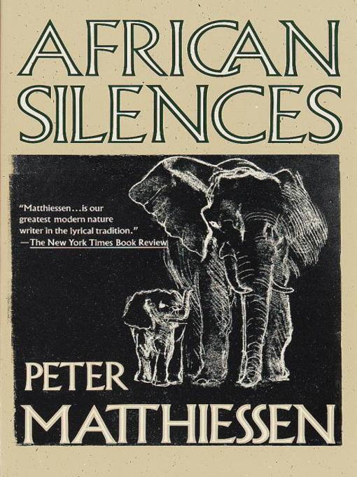 Cover of African Silences