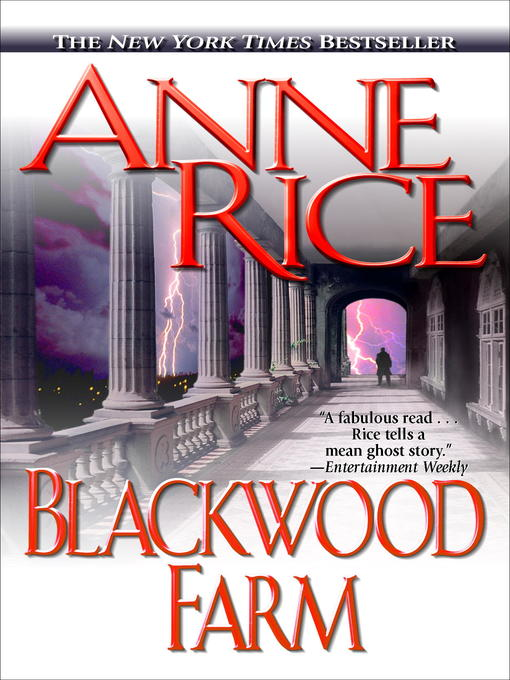 Title details for Blackwood Farm by Anne Rice - Available