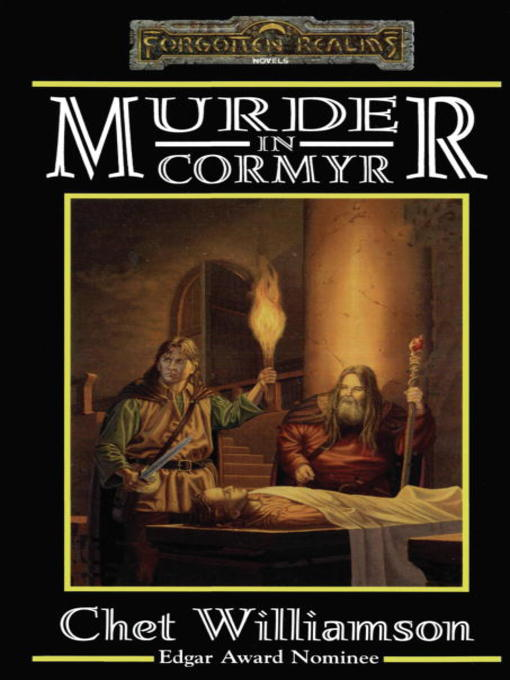Cover image for Murder in Cormyr