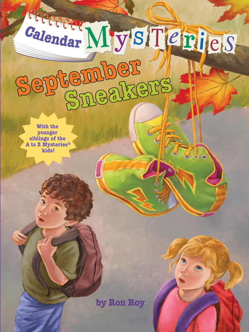 Title details for September Sneakers by Ron Roy - Wait list