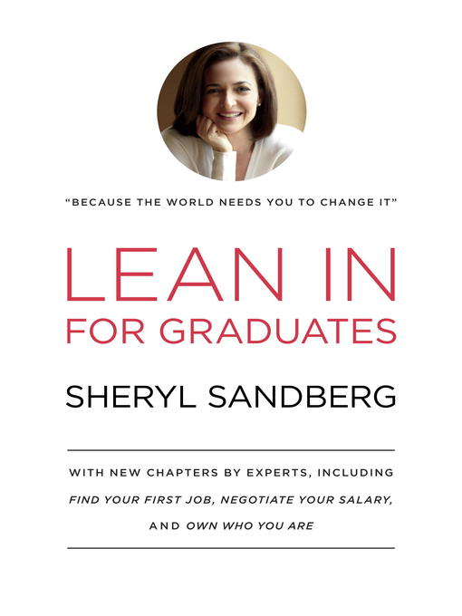 Cover of Lean In for Graduates