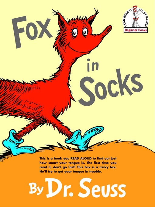 Title details for Fox in Socks by Dr. Seuss - Wait list