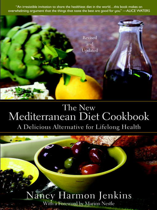 Cover image for The New Mediterranean Diet Cookbook