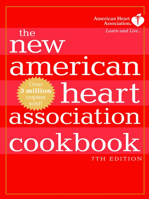 Title details for The New American Heart Association Cookbook by American Heart Association - Available
