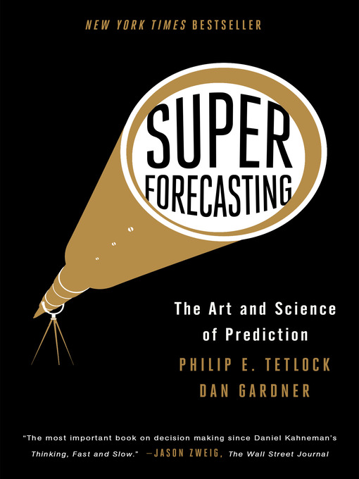 Cover of Superforecasting