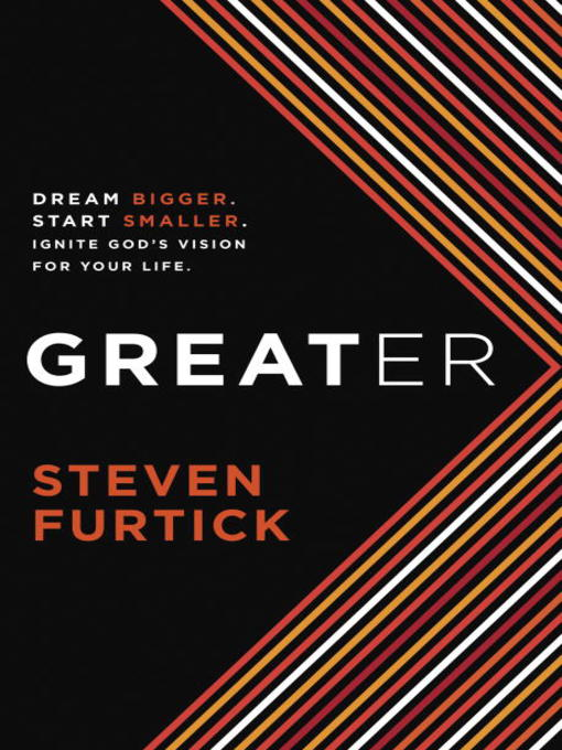 Title details for Greater by Steven Furtick - Wait list