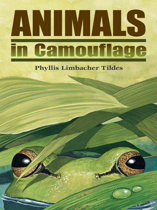 Title details for Animals in Camouflage by Phyllis Limbacher Tildes - Wait list