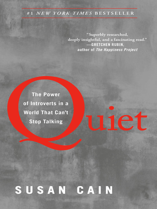 Cover image for book: Quiet