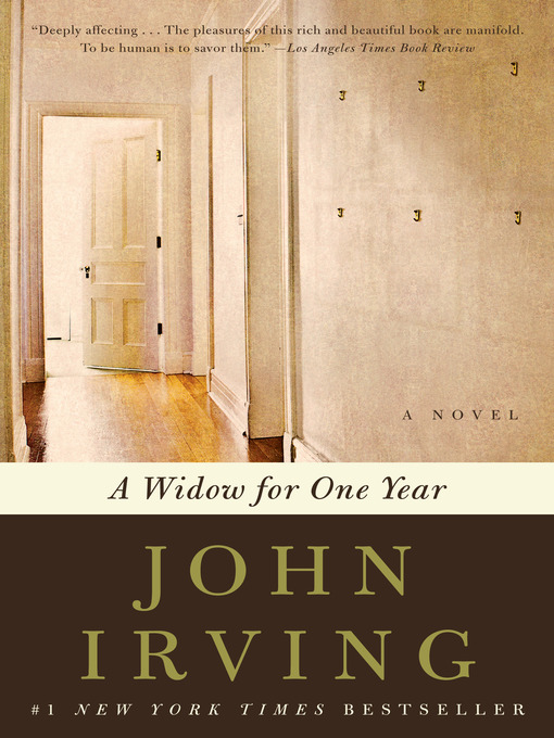 Title details for A Widow for One Year by John Irving - Available