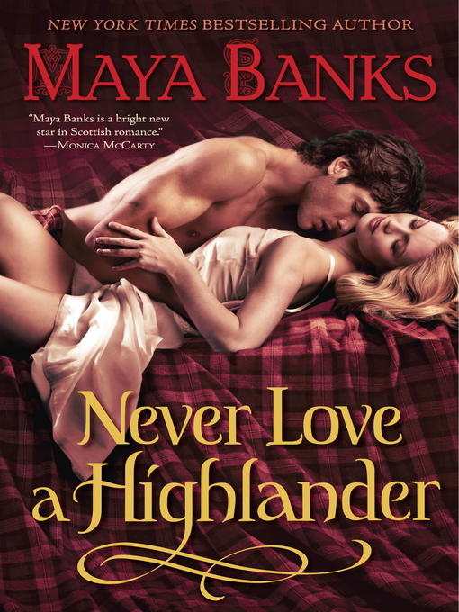 Cover of Never Love a Highlander