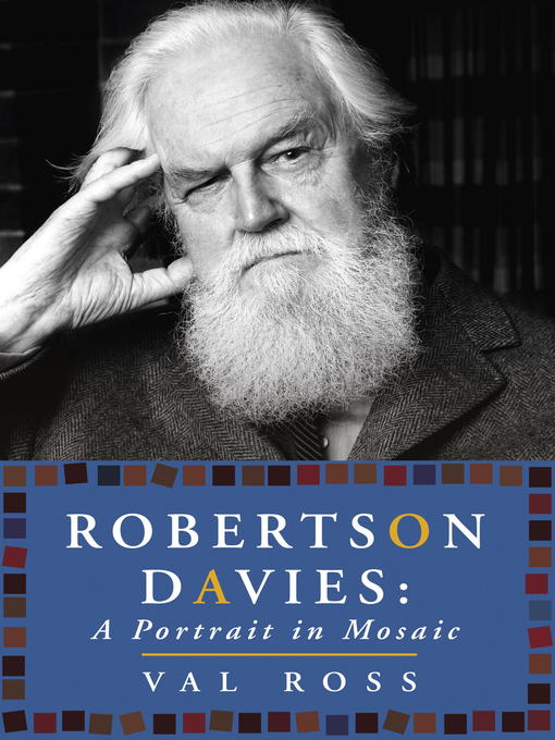 Cover of Robertson Davies