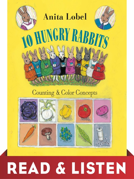 Cover of 10 Hungry Rabbits