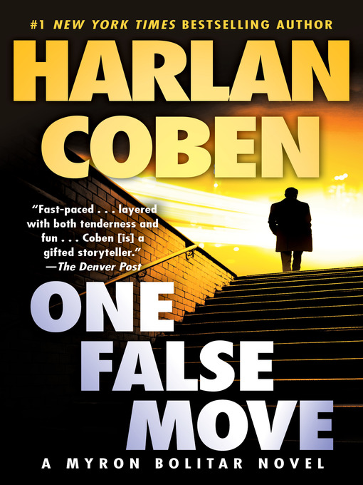 Title details for One False Move by Harlan Coben - Wait list