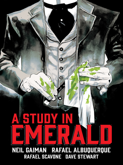 Cover of Neil Gaiman's a Study in Emerald