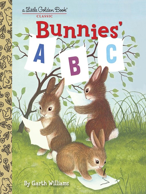 Cover image for Bunnies' ABC