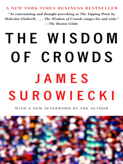 Cover of The Wisdom of Crowds