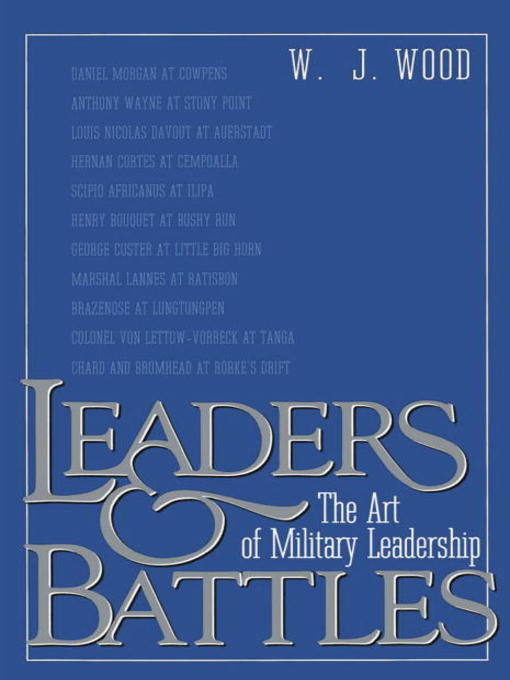 battle leadership Book: battle leadership author: captain adolf von schell length: 95 pages year published: 1933 battle leadership shows a fascinating insight in a period of revolutionary change in not just the german military, but change that made the entire western world tremble change that completely changed the face of war capt.
