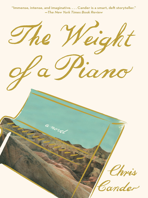 Title details for The Weight of a Piano by Chris Cander - Wait list