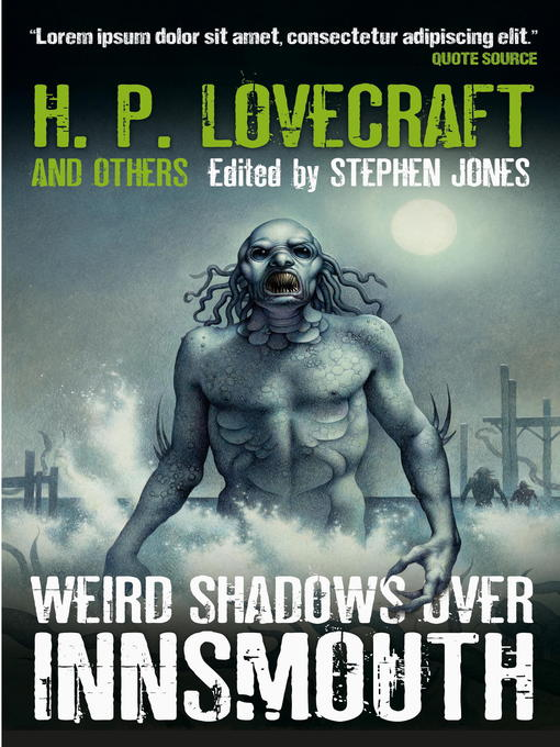Title details for Weird Shadows Over Innsmouth by Stephen Jones - Available