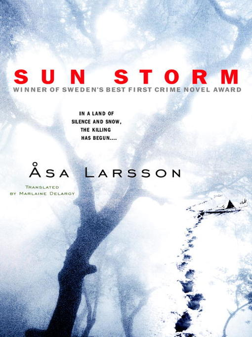 Title details for Sun Storm by Asa Larsson - Available