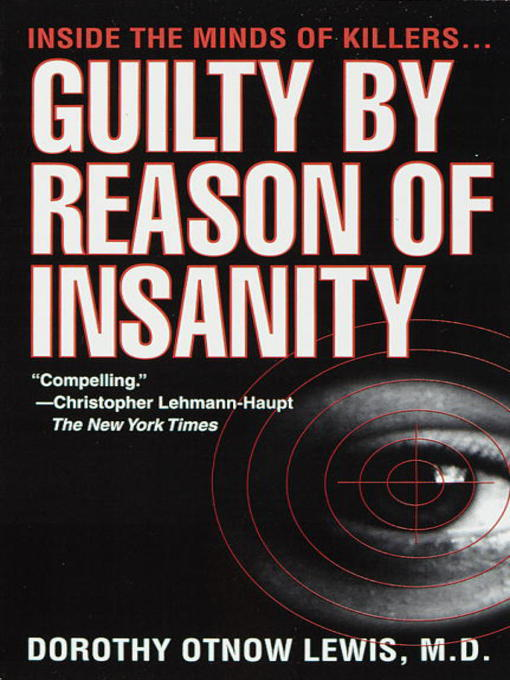 Cover of Guilty by Reason of Insanity