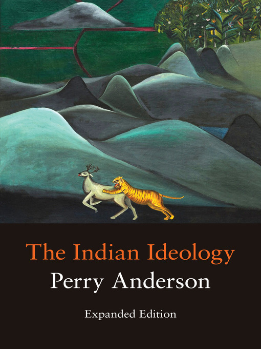 Title details for The Indian Ideology by Perry Anderson - Wait list
