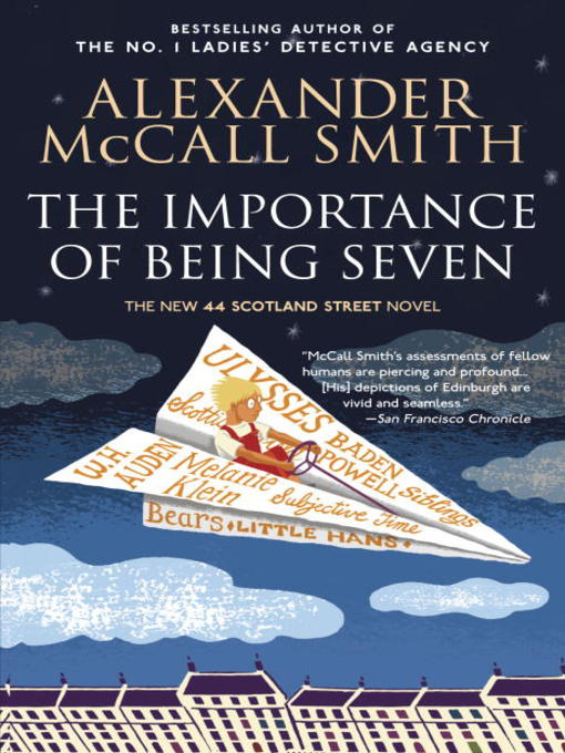Title details for The Importance of Being Seven by Alexander McCall Smith - Available