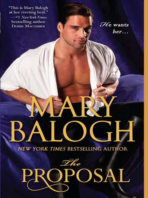 Title details for The Proposal by Mary Balogh - Available