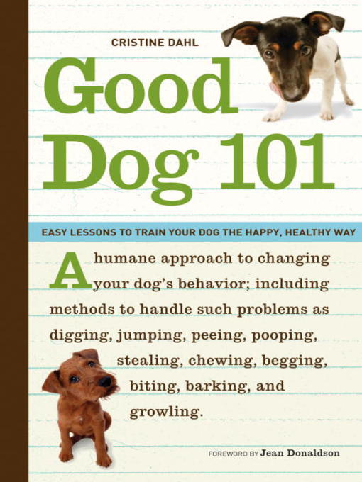 Title details for Good Dog 101 by Cristine Dahl - Wait list