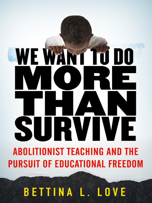 Cover image for We Want to Do More Than Survive