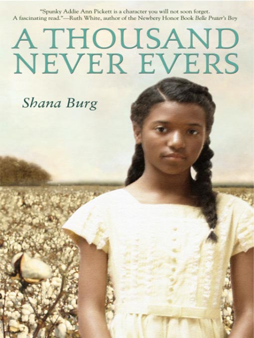 Title details for A Thousand Never Evers by Shana Burg - Available