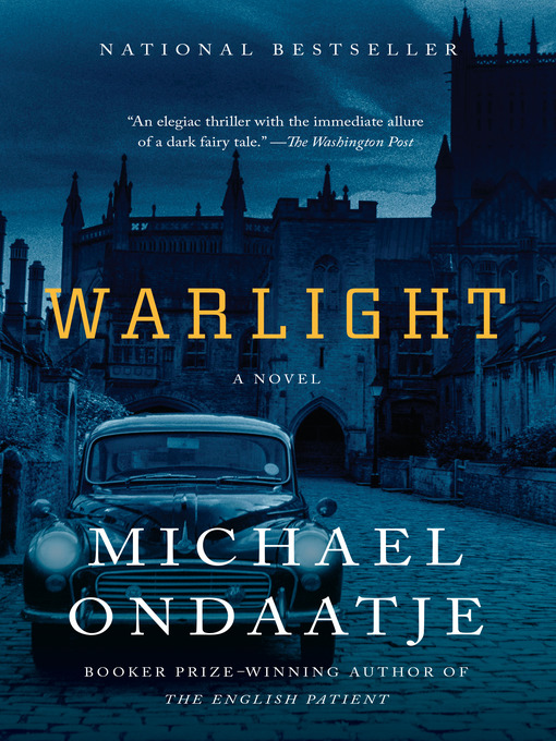 Title details for Warlight by Michael Ondaatje - Wait list