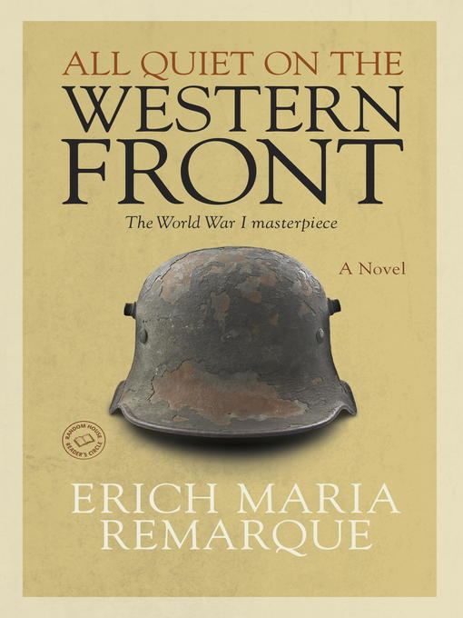 Title details for All Quiet on the Western Front by Erich Maria Remarque - Wait list